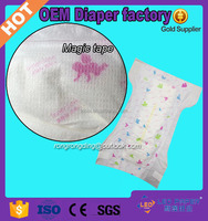hot sale economic baby diaper manufactures in Fujian China