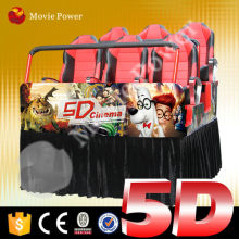 Full motion simulator 5d theater game machines used 5d cinema equipment for sale