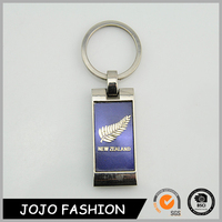 Custom Made Souvenir Keyring New Zealand Metal Key Chain