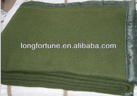 hot sale wool polyester military blanket