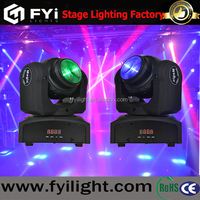 2016 new mini rotated 10w led moving head stage light