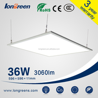 Ultra thin high lux cool white edge-lit 600x600 36w led panel light 60x60 cm led panel lighting