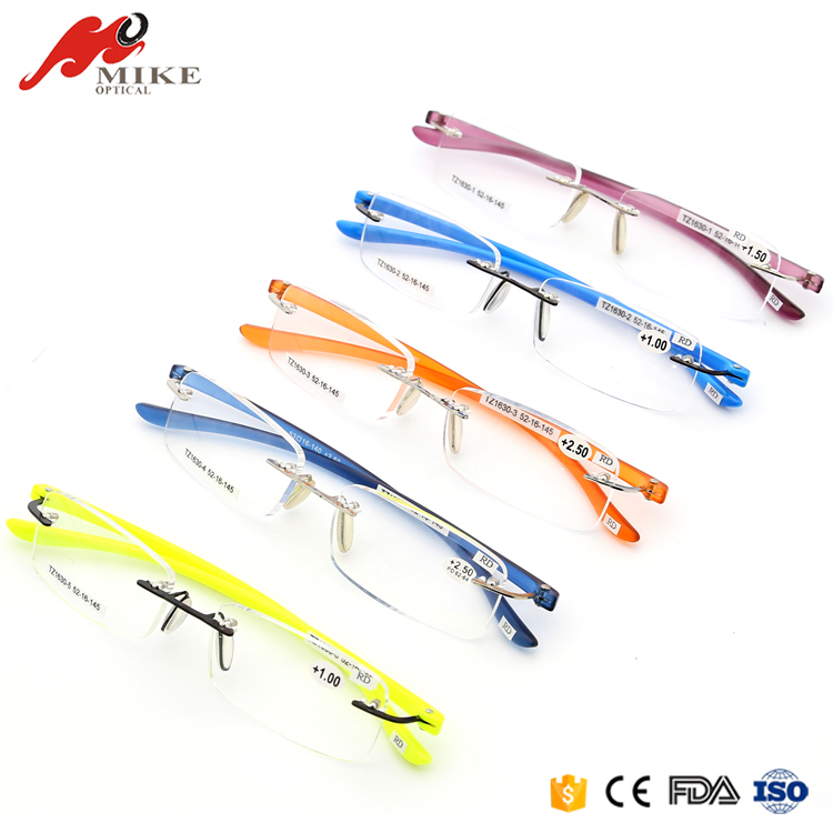 Colorful Plastic Reading Glasses New Design Thin CE FDA Custom Reading Glasses