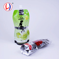 Online Shop China Nozzle Drinks Packaging Doy Pack Plastic Reclosable Bag With Spout
