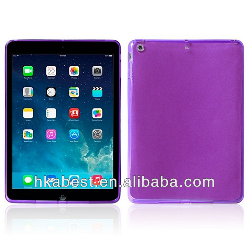 9.7 inch tablet pc tpu case for ipad 5,clear crystal tpu case for ipad air aliexpress