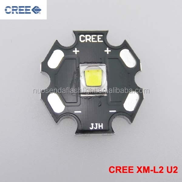 1xCREE XM-L2 <strong>U2</strong> Cool White LED Emitter with 20mm Aluminum Heating Star