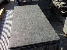 Non-slip Black Granite Paving Tiles