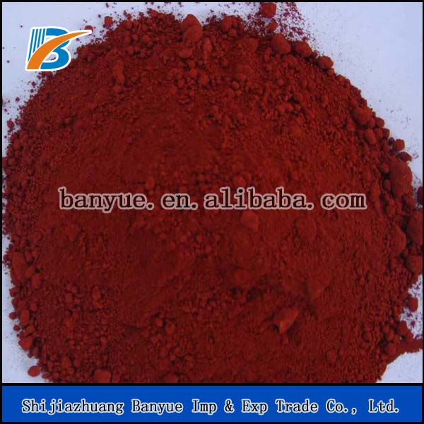 Factory Iron Oxide Red pigment