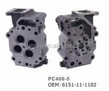 CYLINDER HEAD FOR pc400-5 6d125 engine