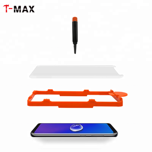 TMAX Premium Full Glue Tempered Glass Screen Protector For Samsung Galaxy S8 S9 Note 8 With Easy Install Tool