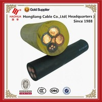 Electrical wire and cable copper conductor PVC /rubber insulated mine cable