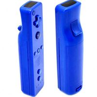 Top Blue Mini Remote And Nunchuck For Wii