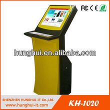 "17/19"" LCD Standing Indoor Touch Kiosk reporting"