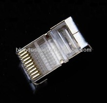 RJ48 RJ50 plug ftp shielded connector 10p10c 10 pin connector