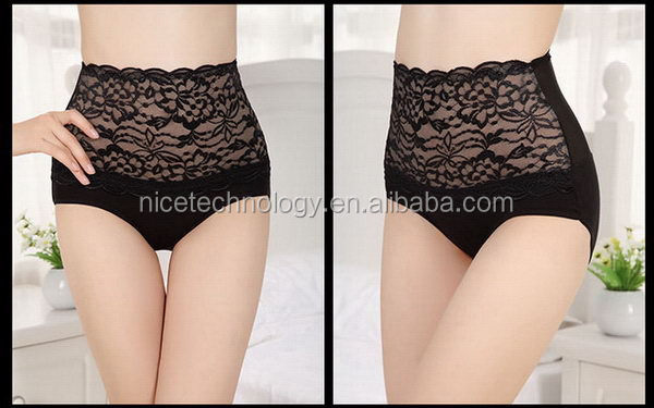 Fashion japanese mature women sexy lingerie lace panty slimming underwear