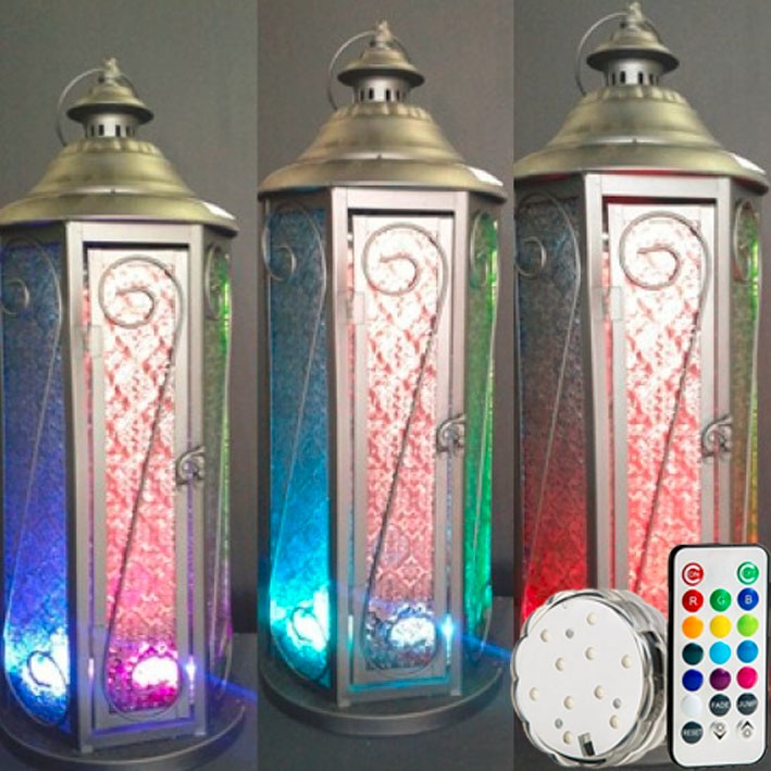 Popular Wholesale Festival Items Wedding Gifts Led Vase Light Base