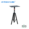 Factory design Extendable Projector tripod Adjustable Height White stand