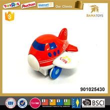 High Quanlity Friction Plastic Airplane Toy for Kids