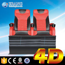 Advanced equipment 3d movies x rider 4d cinema