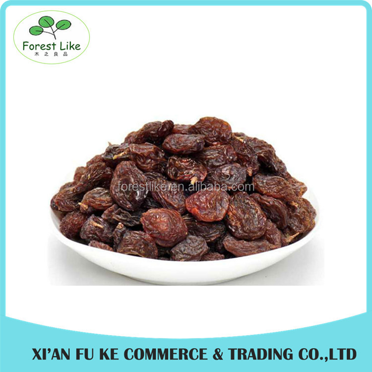 Dried Fruit Products Healthy Snack Dried Dark Red Sweet Currant with Seed