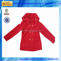 8801 Girls Fleece Jacket Winter Stock
