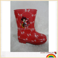 children pvc rain shoe