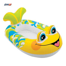 Funny Swimming pool inflatable fish boat for kids