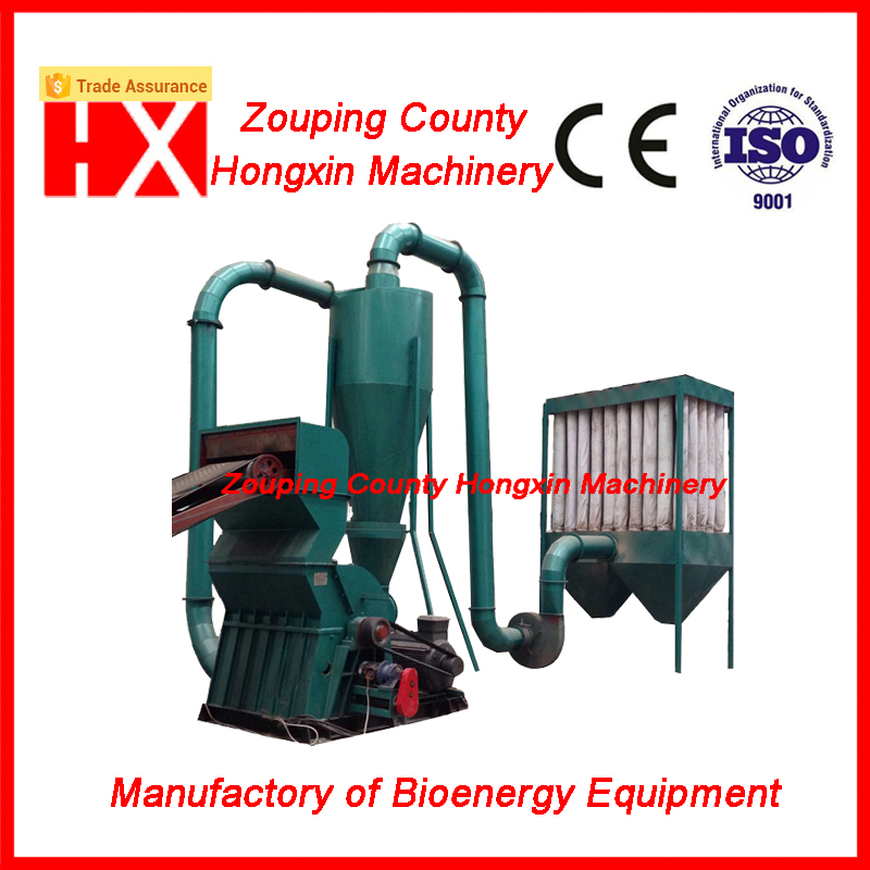 palm shell crusher hammer mill