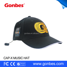 Sun Hat with Adjustable Velcro Hands-free Bluetooth In-ear Headset Music Hat Sports Cap for Men Women