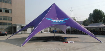 16M Outdoor Dye sublimation promotional star tent for event