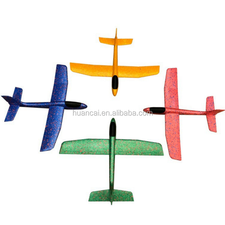 Hot sale flying kid's toys EPP plane hand throwing glider plane /circle round hand throw plane