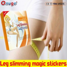 beauty and sexy hot sale Slim Microcrystalline slimming magic stickers slimming leg stickers