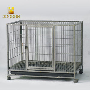 Big strong hollow tube dog cage