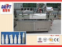 automatic aerosol spray paint filling capping machine line