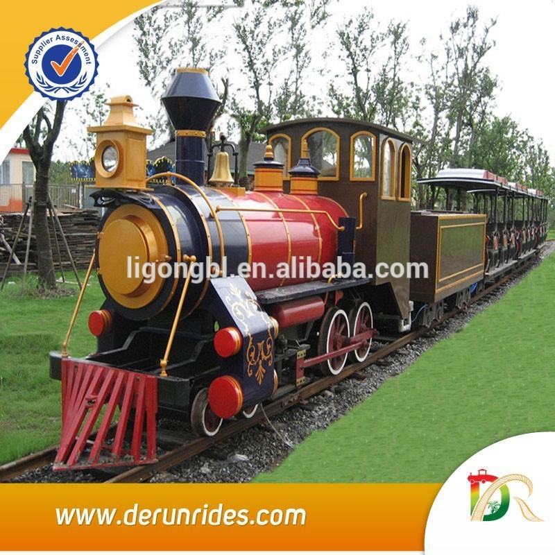 News !!The latest hot product track train,Amusement park miniature trains for sale!!!