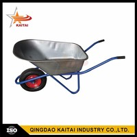 Cheap China Factory Two Wheel Garden Wheel Barrows