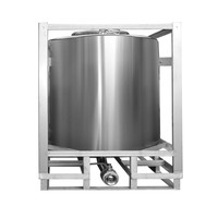 Good quality 1000L stainless steel well water storage tank