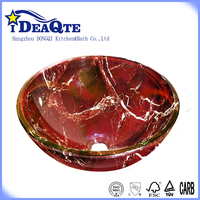 Factory lowest price glass wash basin