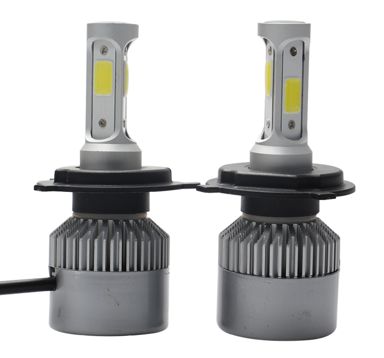 Brightest auto led headlight bulb 80W 9000 lumens with fan H1 H3 H7 H10 H11 H13 9006 9005 H4 led head lights cars