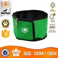 OEM Service Pet Water Folding Collapsible Dog Food Travel Bowl Portable Pet Productions