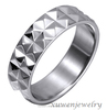 machine cut 316l stainless steel baseball championship ring