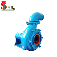 drilling mud wastewater pumping water pump driven by belt