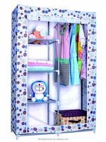 fancy bedroom wardrobe, assemble plastic portable wardrobe closet, modern design bedroom furniture wardrobe