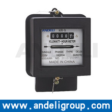 kwh meter electrical watt-hour meter pulse counter power meter