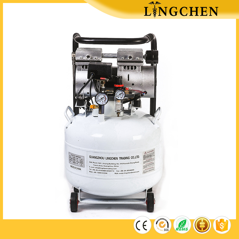 Lingchen Dental unit Oiless Silent mini Dental Air Compressor with best price