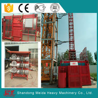 Meida SC100/100 double cage 1ton Construction Elevator With overload protector