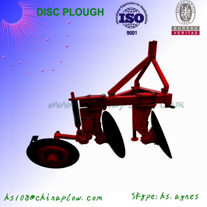 Farm cultivator 3 point hitch 2 bottom plow hot sale