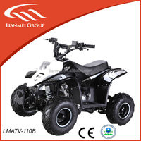 china raptor 110cc atv gas four wheelers for kids with EPA