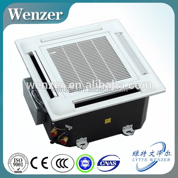 Ceiling Cassette Type Air Conditioning Fan Coil Unit for Central Air Conditioner Terminal Parts