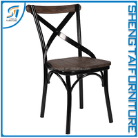 Hot dining room chair stackable metal chair frames